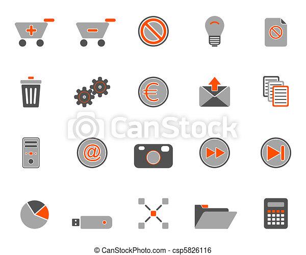 icone fotoricettore - csp5826116