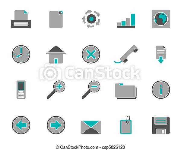 icone fotoricettore - csp5826120