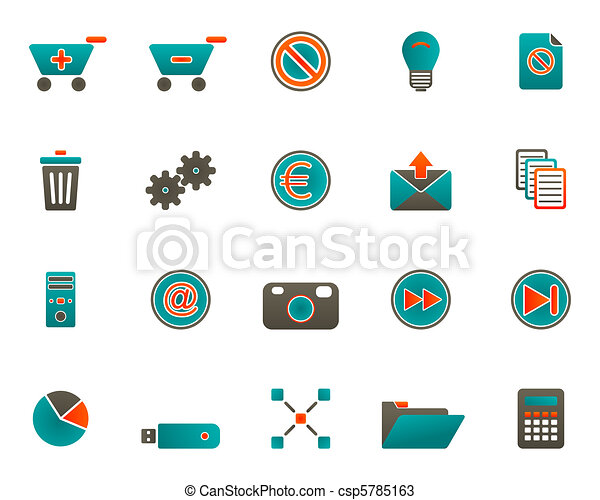 icone fotoricettore - csp5785163