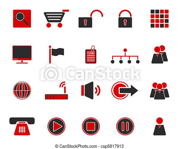 icone fotoricettore - csp5817913