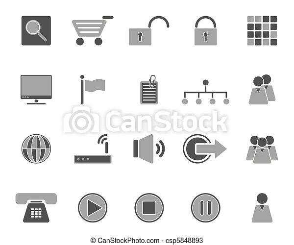 icone fotoricettore - csp5848893