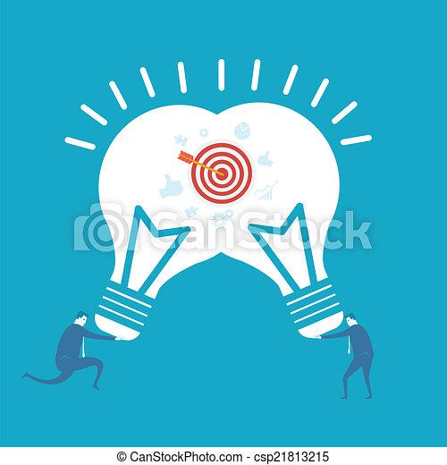 idea, affari - csp21813215