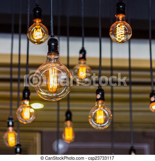 illuminazione, decor. - csp23733117