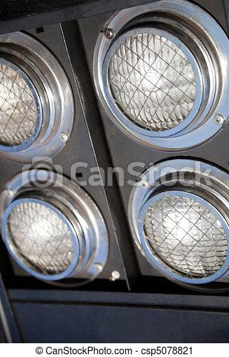 illuminazione, dettaglio, riflettore - csp5078821