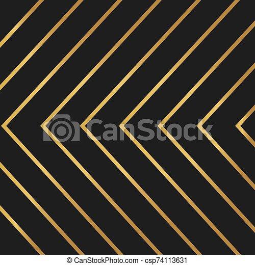illustrazione, dorato, lusso, background-, vettore - csp74113631