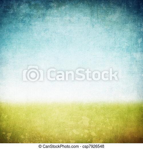 immagine, o, grunge, testo, spazio, fondo - csp7926548