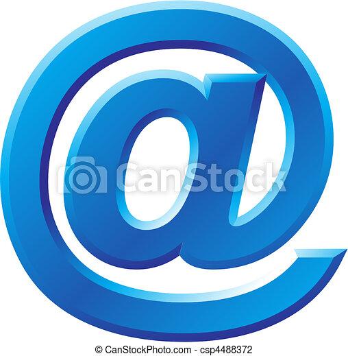 @, immagine, simbolo, internet - csp4488372