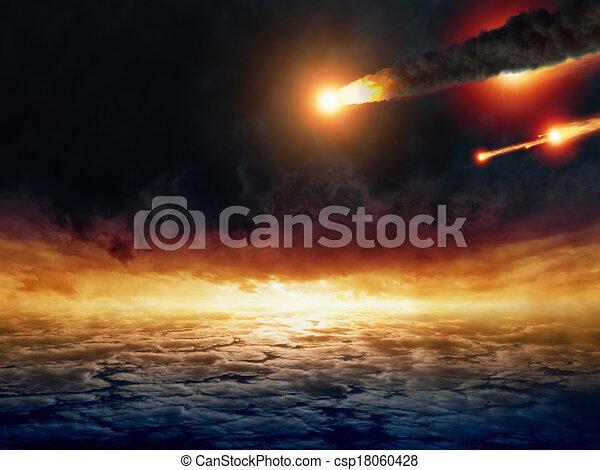 impatto, asteroide - csp18060428