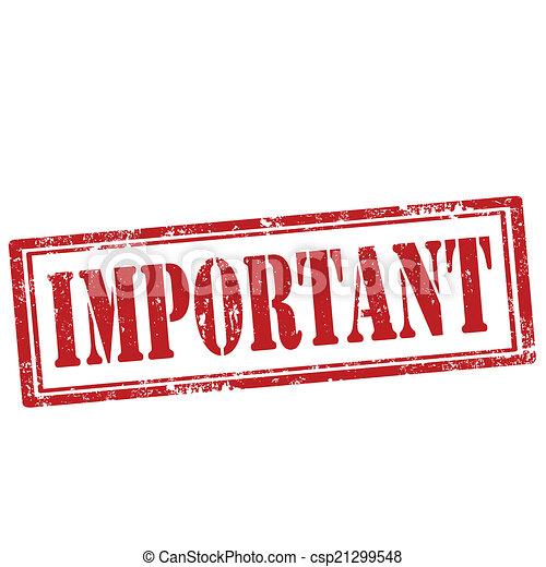 important-stamp - csp21299548