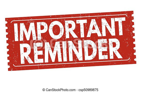 importante, o, segno, francobollo, promemoria - csp50989875