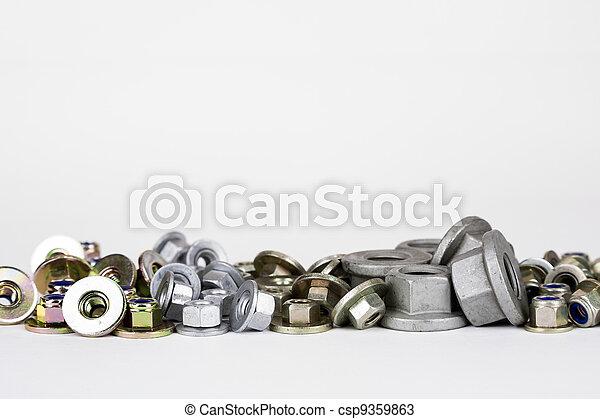 industria automobilistica, usato, noci, vario - csp9359863