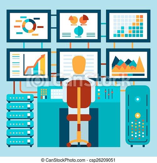 informazioni, cruscotto, analisi - csp26209051