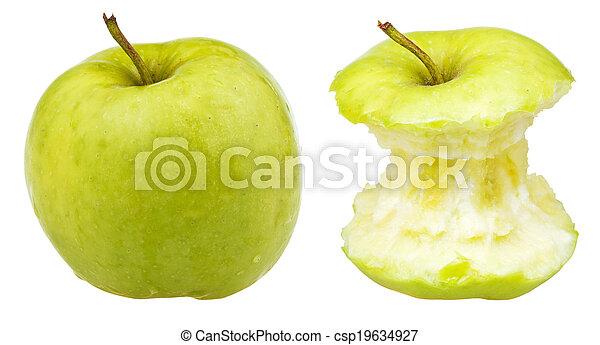 intero, centro, fabbro, mela, nonna - csp19634927