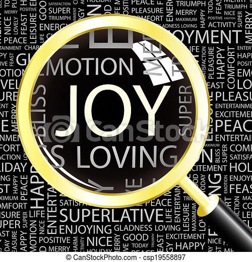 joy. - csp19558897