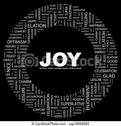 joy. - csp18859583