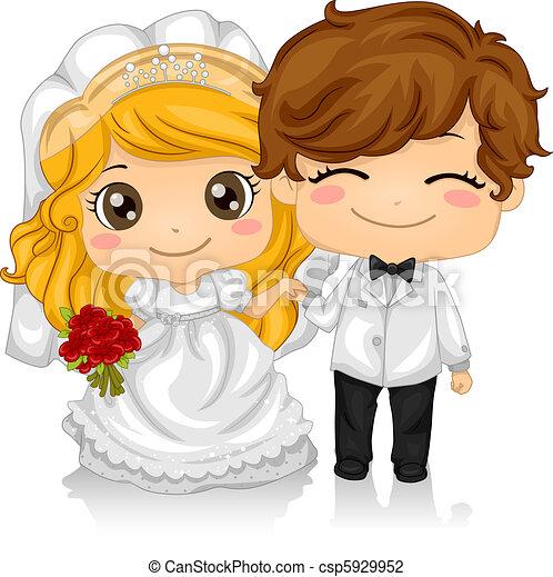 kiddie, matrimonio - csp5929952