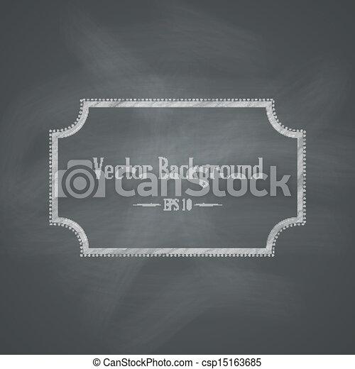 lavagna, fondo, retro - csp15163685