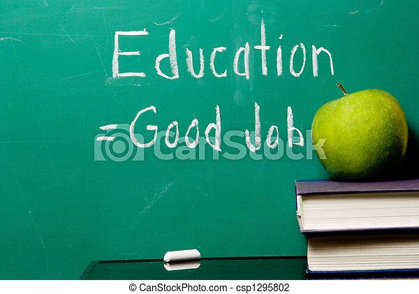 lavoro, buono, educazione, uguaglia - csp1295802