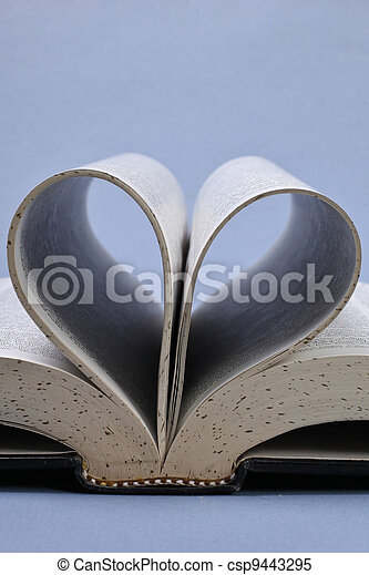 libro, aperto - csp9443295