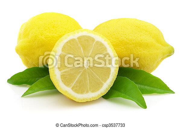 limone, succoso - csp3537733