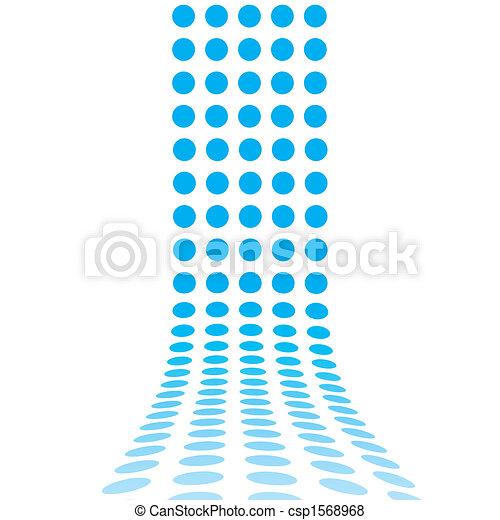 linee, punteggiato, 3d - csp1568968
