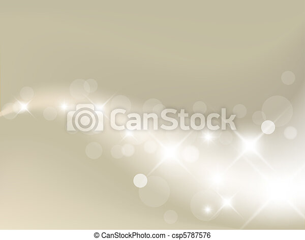 luce, fondo, argento, astratto - csp5787576