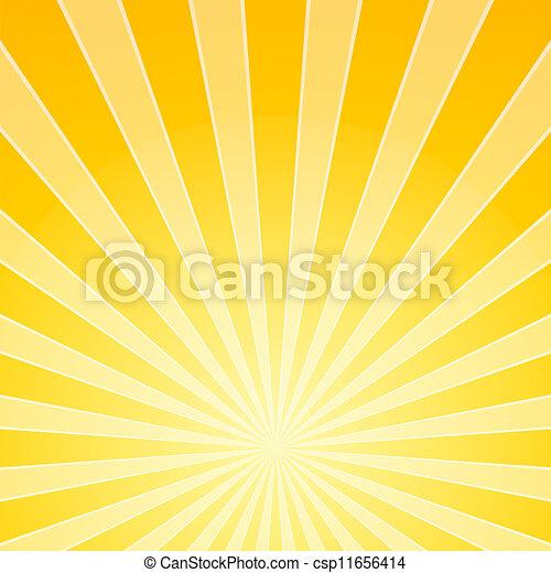 luce, luminoso, giallo, raggi - csp11656414