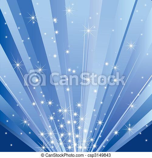 luce, magia, (vector) - csp3149843