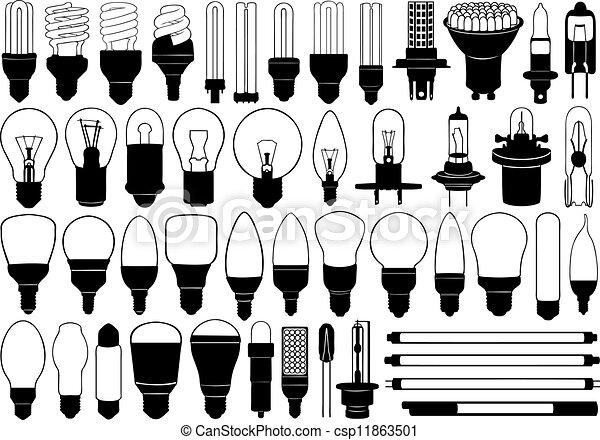luce, set, lampadine - csp11863501
