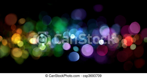 luci, astratto - csp3693709