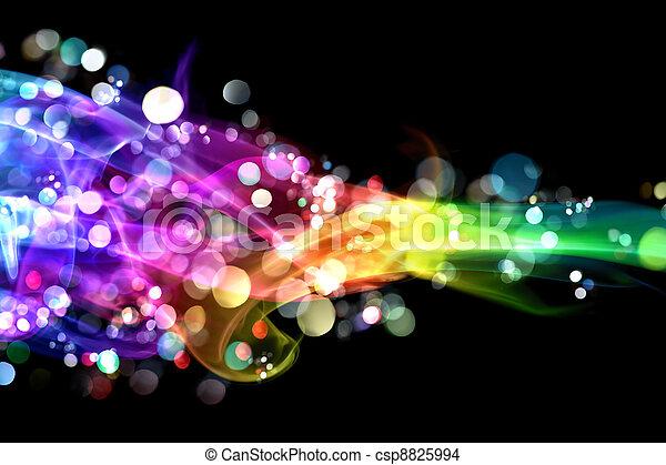 luci, colorito, fumo - csp8825994