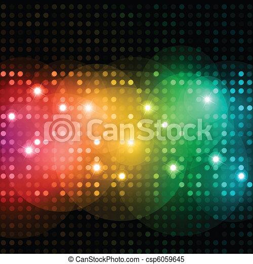 luci, discoteca - csp6059645