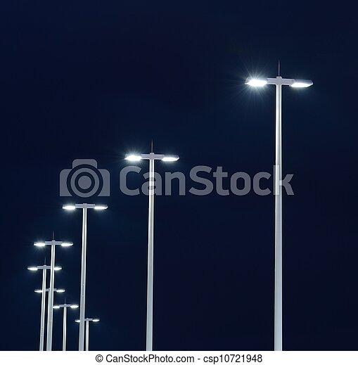 luci, strada - csp10721948