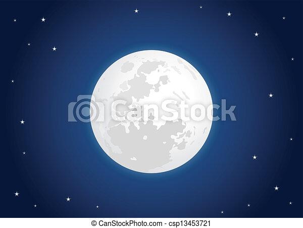 luna bianca - csp13453721