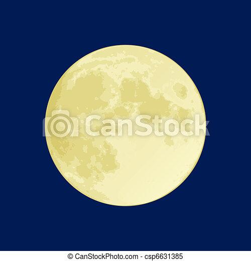 luna piena - csp6631385