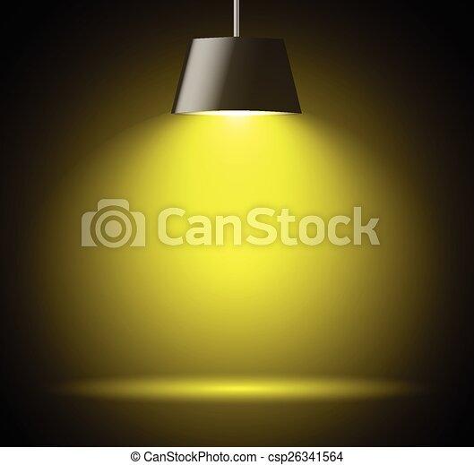 macchia, fondo, luce, astratto - csp26341564