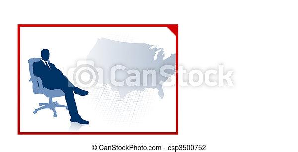 mappa, ci, esecutivo, fondo, affari - csp3500752