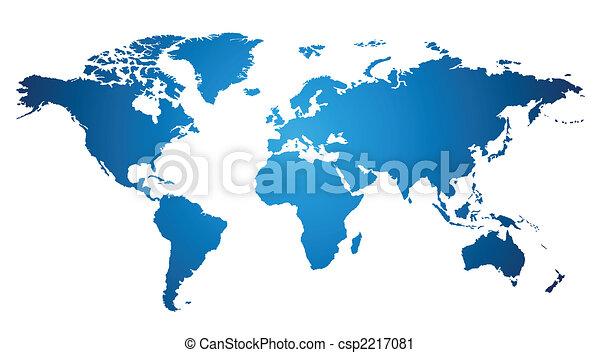 mappa mondo - csp2217081