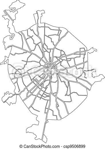 mappa, mosca - csp9506899