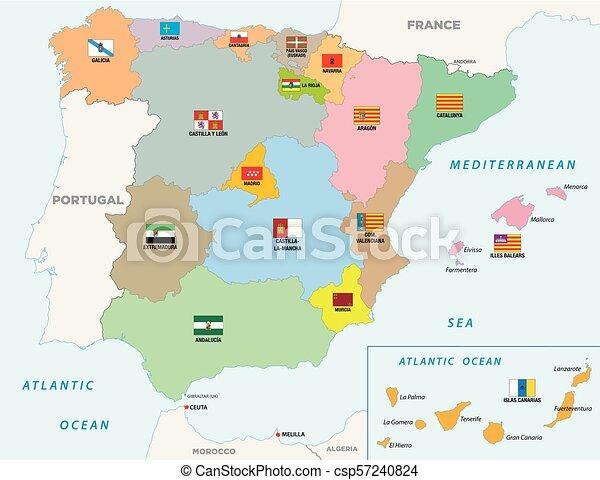 Cartina Spagna Politica Da Stampare.Cartina Spagna Politica Da Stampare