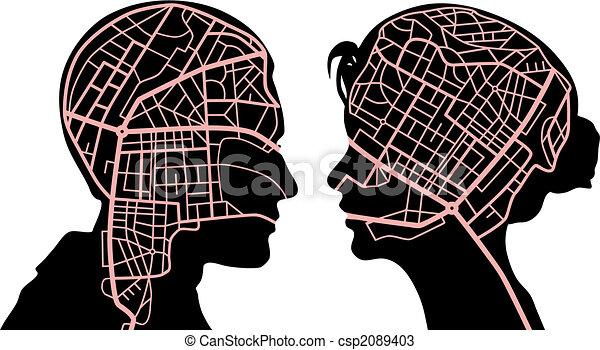 mappe, mente - csp2089403