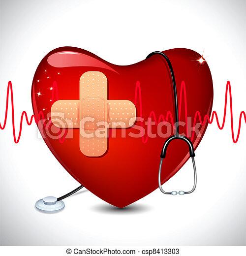 medico, fondo - csp8413303