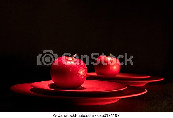mela, rosso - csp0171107