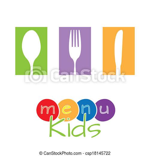 menu, bambini - csp18145722