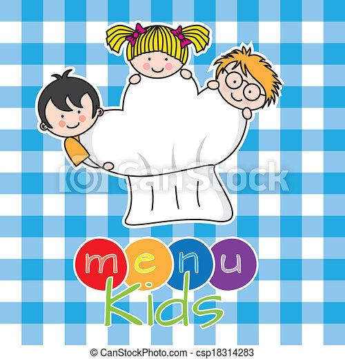 menu, bambini - csp18314283
