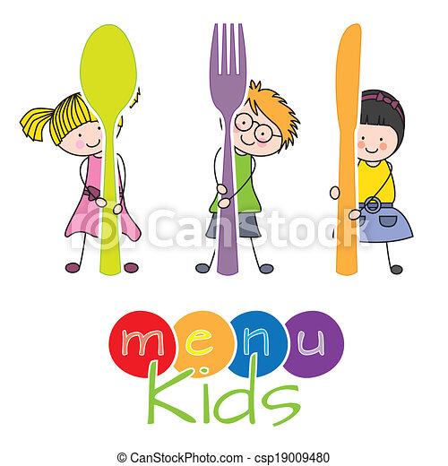 menu, bambini - csp19009480