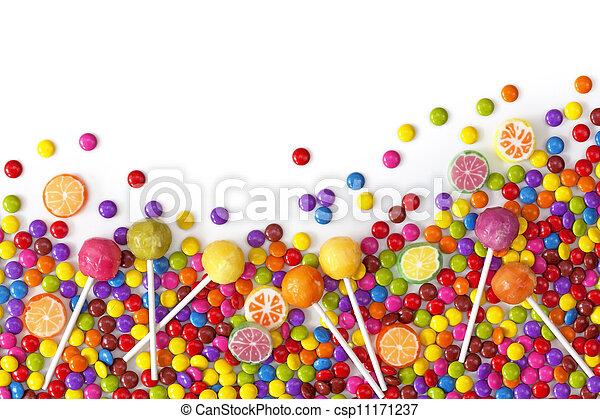mescolato, dolci, colorito - csp11171237