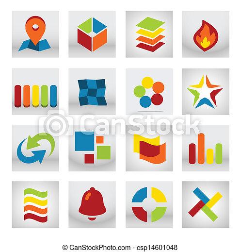 mobile, domanda, astratto, logotipo - csp14601048