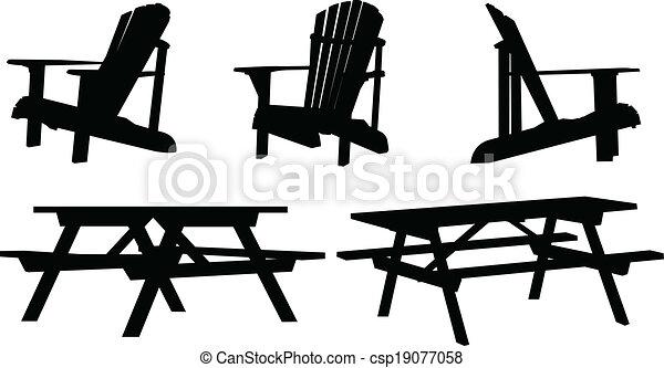 mobilia esterna - csp19077058