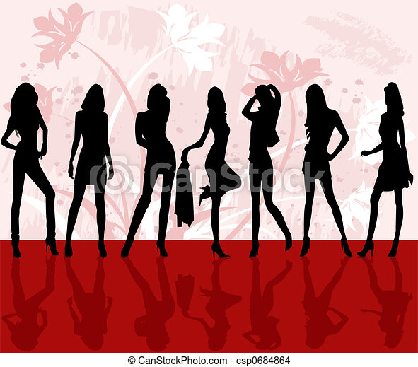 moda, ragazze - csp0684864